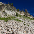 Granite ridge on the Elkhorn Crest Trail.- Elkhorn Crest Trail: Lost Lake + Summit Lake