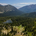 Above Lost Lake.- Elkhorn Crest Trail: Lost Lake + Summit Lake