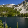 Summit Lake.- Elkhorn Crest Trail: Lost Lake + Summit Lake