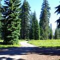 Huckleberry Campground.- Huckleberry Mountain Campground