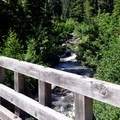 Bridge over Sulphur Creek.- Park Butte