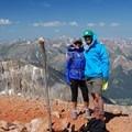 Redcloud Peak (14,035').- Redcloud Peak + Sunshine Peak
