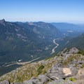 View to the west.- Bandera Mountain Hike