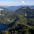 Mason Lake, Little Mason Lake, Lake Kulla Kulla.- Mount Defiance