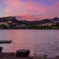 Sunset at Juniper Point.- Juniper Point