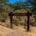 Juniper Point entrance.- Juniper Point