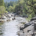 North Fork of the Stanislaus River.- Sourgrass Day Use Area