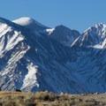 Eastern Sierra from near Wild Willy's Hot Springs.- Wild Willy's Hot Springs