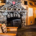 Lodge lobby.- Tamarack Lodge