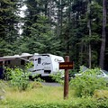 The campground host also has firewood for sale.- Denny Creek Campground