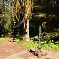 Water pump near the day use picnic area.- Silver Fir Campground