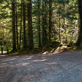 The entrance to Tinkham Campground.- Tinkham Campground