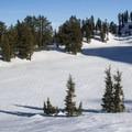 Ridge Lakes (8,000').- Ridge Lakes Winter Camp