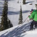 The art of freeheeling, splitboard style.- Ridge Lakes Winter Camp