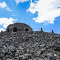 The Dee Wright Observatory from below.- Lava River National Recreation Trail