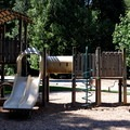 Playground at the day use picnic area in Rasar State Park Campground.- Rasar State Park Campground