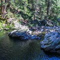 The lower pool.- North Fork Falls