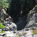North Fork Falls.- North Fork Falls