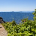 The upper viewpoint.- Mount Si Hike