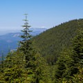 A view of Mount Baker (10,781') from Mount Si.- Mount Si Hike