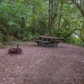 Large camp sites.- Ludlum Campground