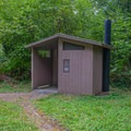 Clean restrooms.- Ludlum Campground