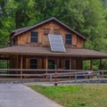 The Ludlum House.- Ludlum Campground