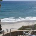 Steps down to the beach.- Swami's Beach