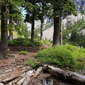 Melakwa Lake.- Melakwa Lake via Denny Creek Trail