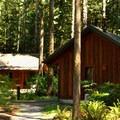 Cabins at Rasar State Park.- Rasar State Park