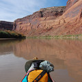 Views from the river.- Green River, Labyrinth Canyon