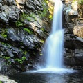 North Fork Falls.- North Fork Campground
