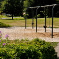 Swingset at Howard Miller Steelhead Park.- Howard Miller Steelhead Park Campground