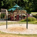 Playground at Howard Miller Steelhead Park.- Howard Miller Steelhead Park Campground