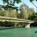 Skagit River from Howard Miller Steelhead Park.- Howard Miller Steelhead Park Campground