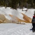 Sulphur Works.- Lassen Southwest Entrance Winter Recreation Area