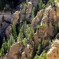 The latter portion of the trek uses the West Rim Trail.- Trans-Zion Trek