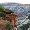 The final day on the Trans-Zion Trek, West Rim Trail.- Trans-Zion Trek