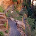 Final downhill of the Trans-Zion Trek.- Trans-Zion Trek