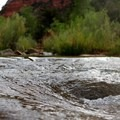 Creeks and streams are a most welcome site on this exposed trek.- Trans-Zion Trek