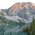 Lake Colchuck in The Enchantments.- Enchantment Lakes Thru-Hike