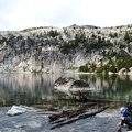 Lake Viviane in The Enchantments.- Enchantment Lakes Thru-Hike