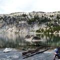Lake Viviane in The Enchantments.- Enchantment Lakes Thru-Hike