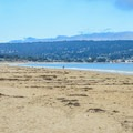 Houghton M. Roberts Beach is open and spacious.- Houghton M. Roberts Beach
