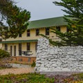 Remnants of the Fort Ord Military Barracks.- Fort Ord Dunes State Park