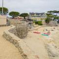 Sandy walk down to the beach.- Lovers Point Beach