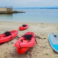 Kayak rentals.- Lovers Point Beach