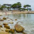 Lovers Point Beach.- Lovers Point Beach