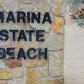 Entrance to Marina State Beach.- Marina State Beach