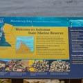 Marine reserves around California.- Asilomar State Marine Reserve